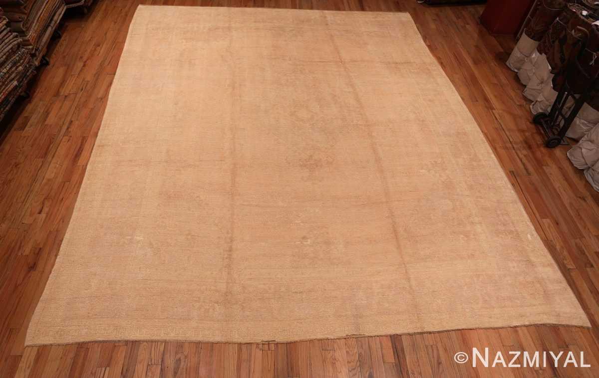 Full Antique Turquish Oushak rug 46694 by Nazmiyal