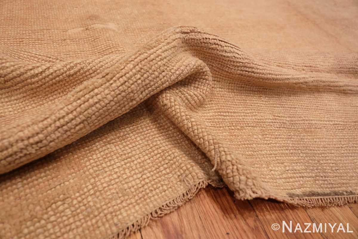 Texture Antique Turquish Oushak rug 46694 by Nazmiyal