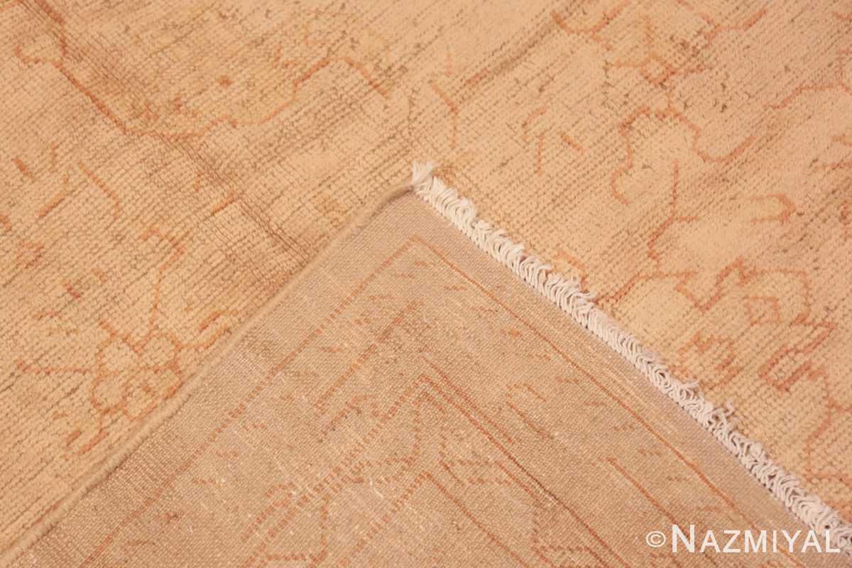 Weave Antique Turkish Oushak carpet 46814 by Nazmiyal