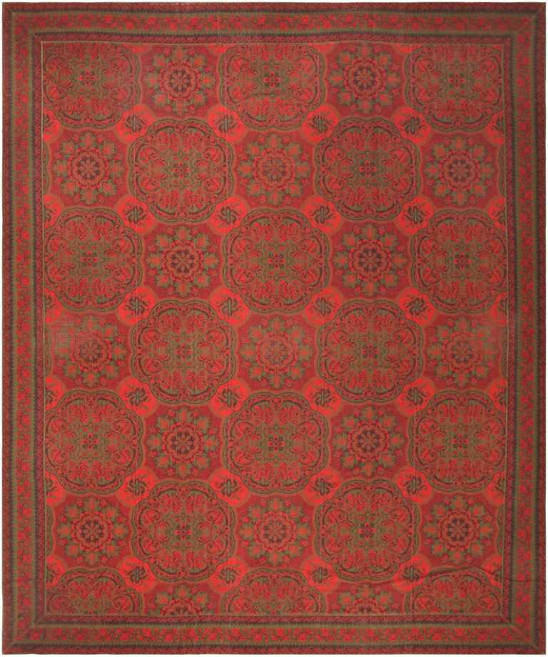 Antique American Axminster Carpet 42374 Nazmiyal