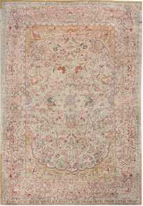 Antique Indian Agra Oriental Rug 40535 Nazmiyal