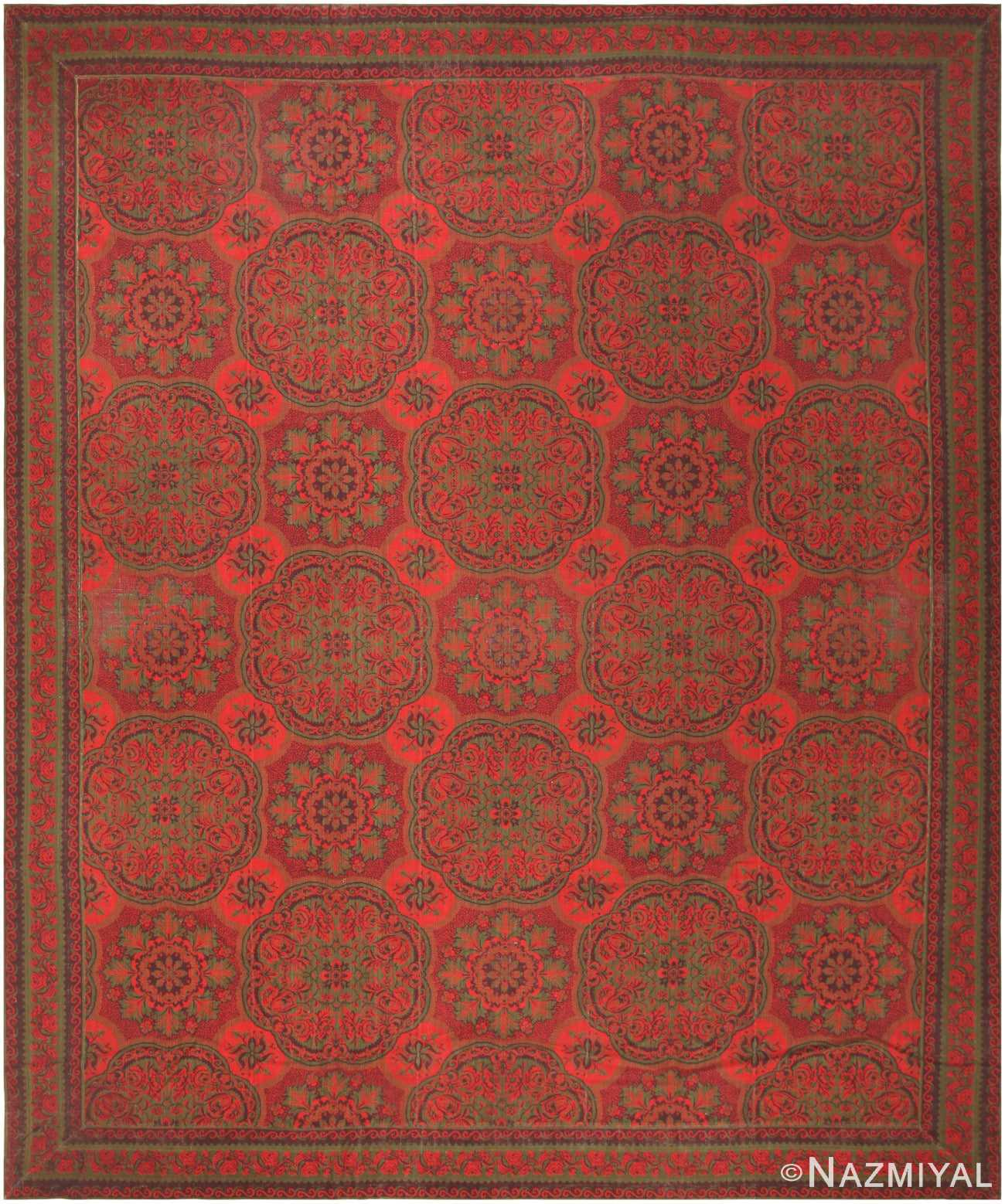 Antique English Arts And Crafts Rug 42375 By Nazmiyal
