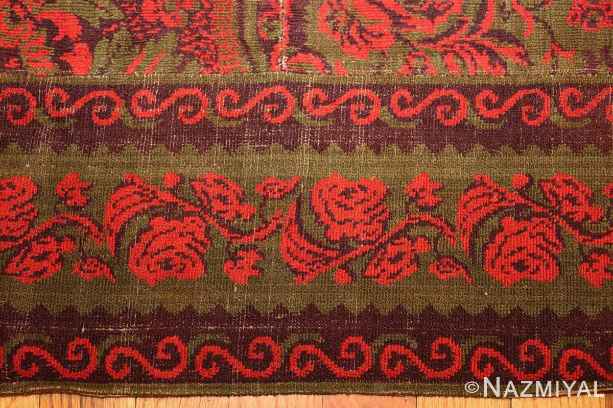antique arts and crafts english wilton carpet 42374 border Nazmiyal