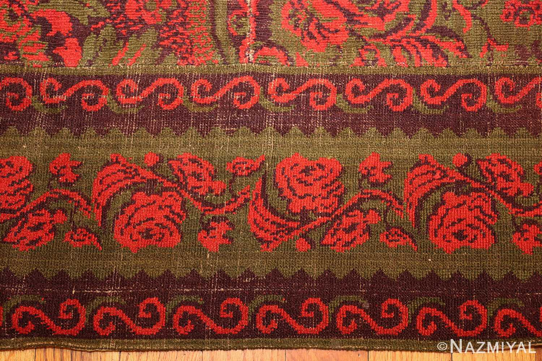 antique arts and crafts english wilton carpet 42374 border Nazmiyal