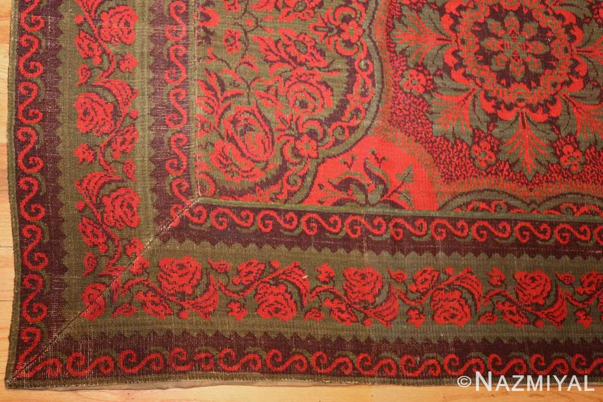 antique arts and crafts english wilton carpet 42374 corner Nazmiyal