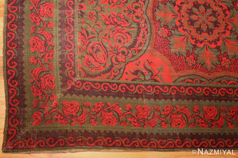 antique arts and crafts english wilton carpet 42374 corner Nazmiyal