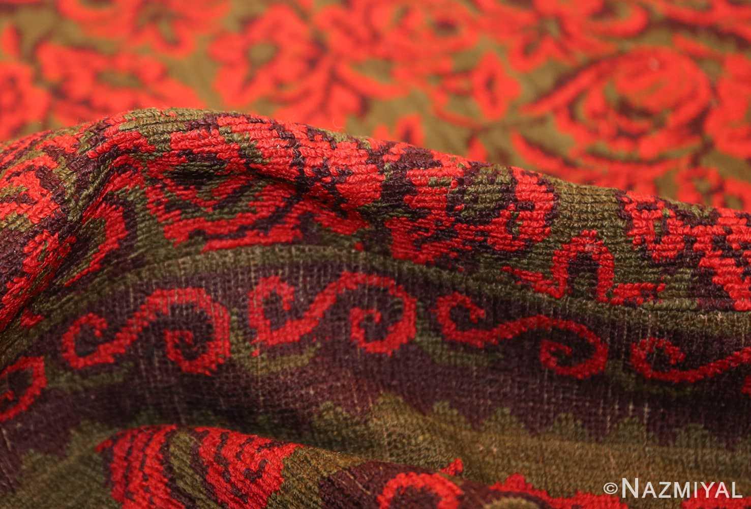 antique arts and crafts english wilton carpet 42374 pile Nazmiyal