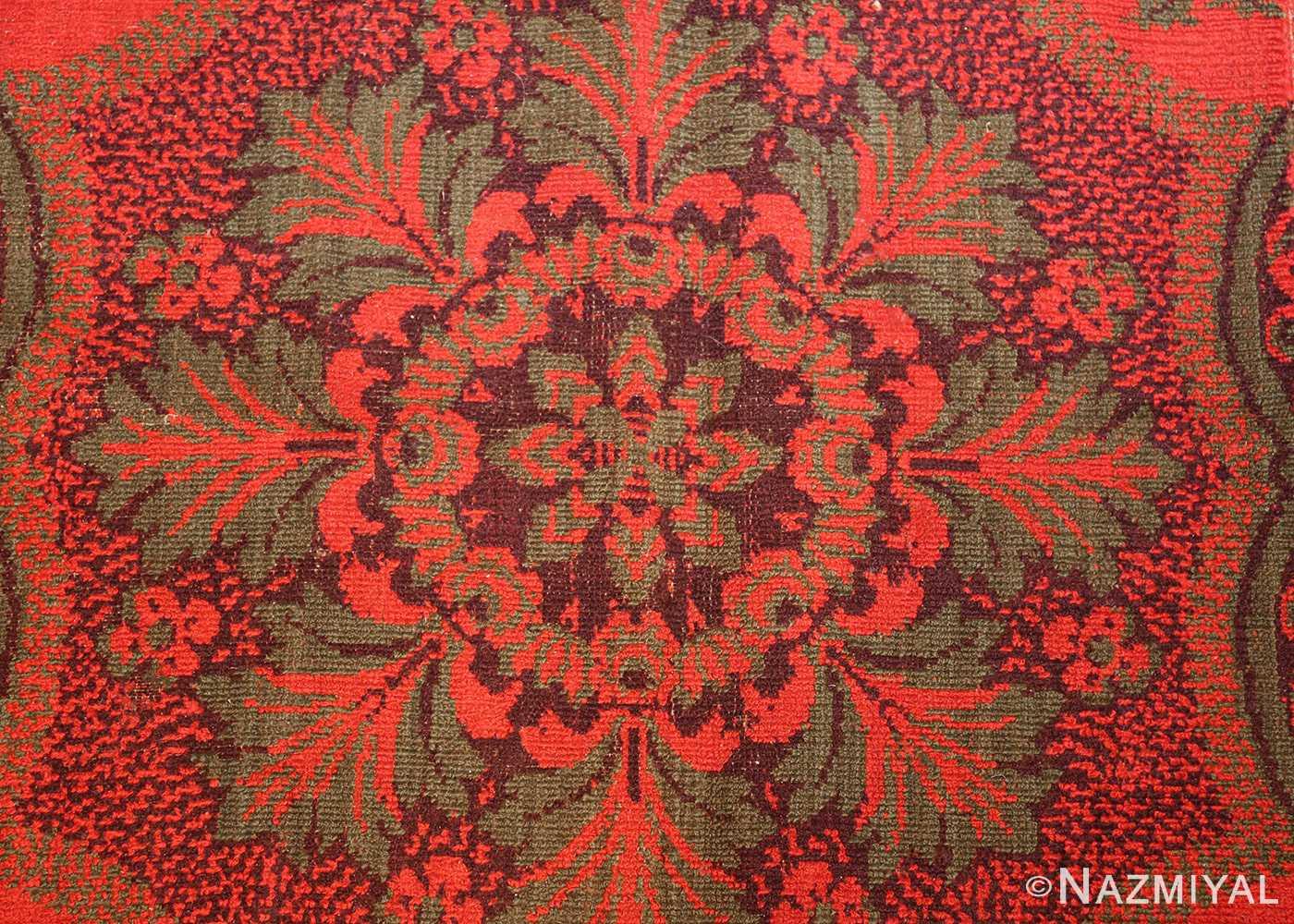 antique arts and crafts english wilton carpet 42374 star Nazmiyal