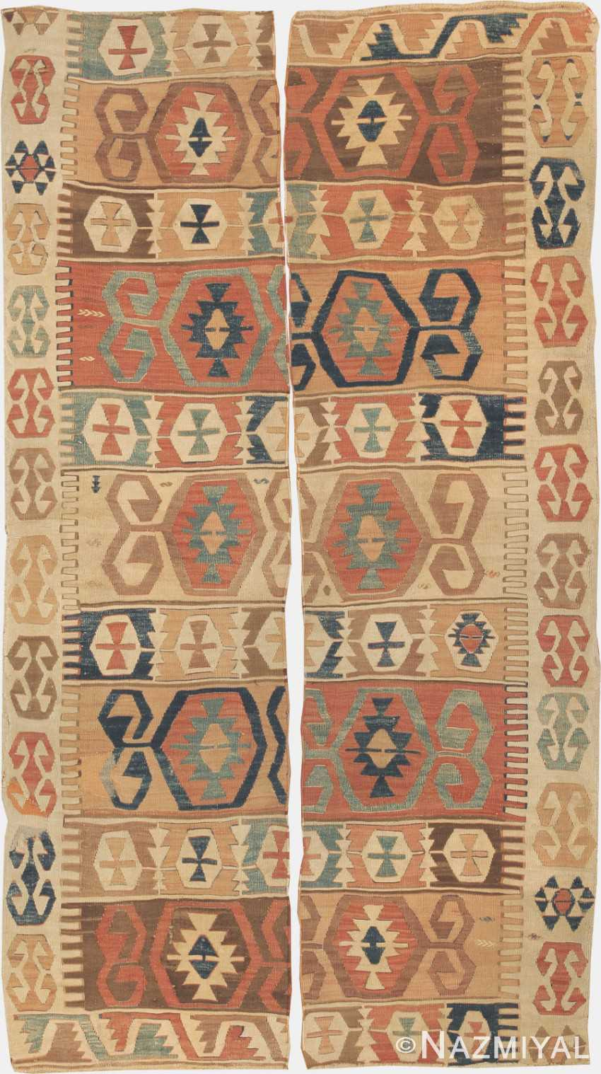 Antique Turkish Kilim Carpets 699