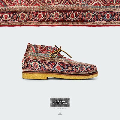 Anton Repponen Persian Rug Shoes