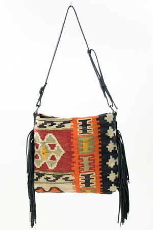 Tylie Malibu Bags From Vintage Kilims by Nazmiyal