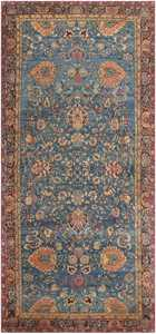 Antique Indian Agra Rug 46907 Nazmiyal