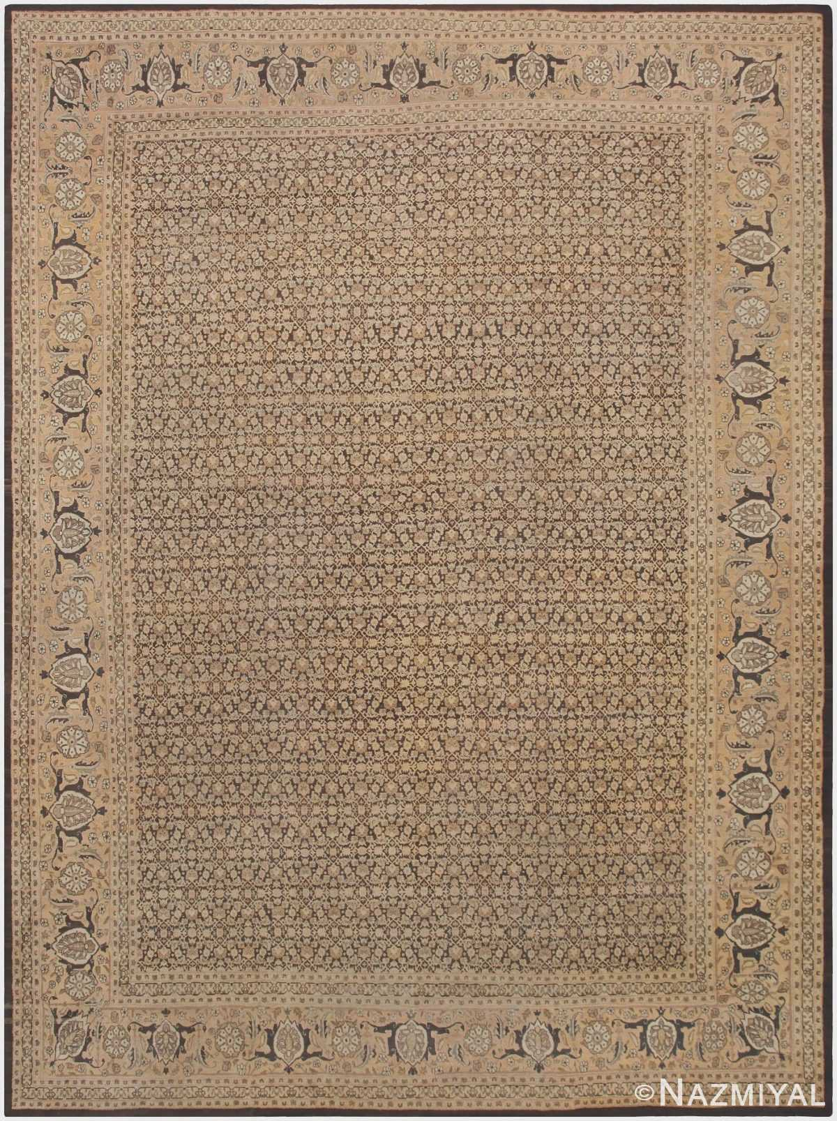 Large Antique Persian Tabriz Rug 46808 by Nazmiyal