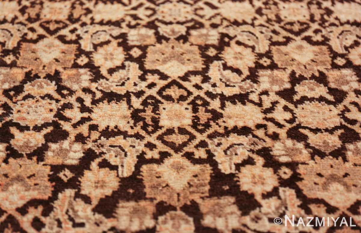 antique rare brown background persian tabriz rug 46808 design Nazmiyal