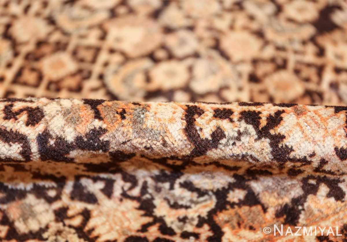antique rare brown background persian tabriz rug 46808 pile Nazmiyal