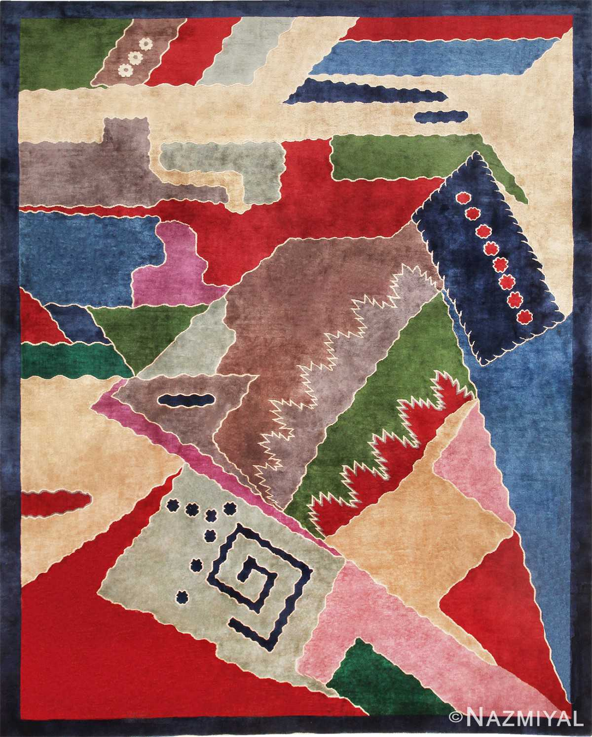 Art Deco Chinese Carpet 46981 Nazmiyal