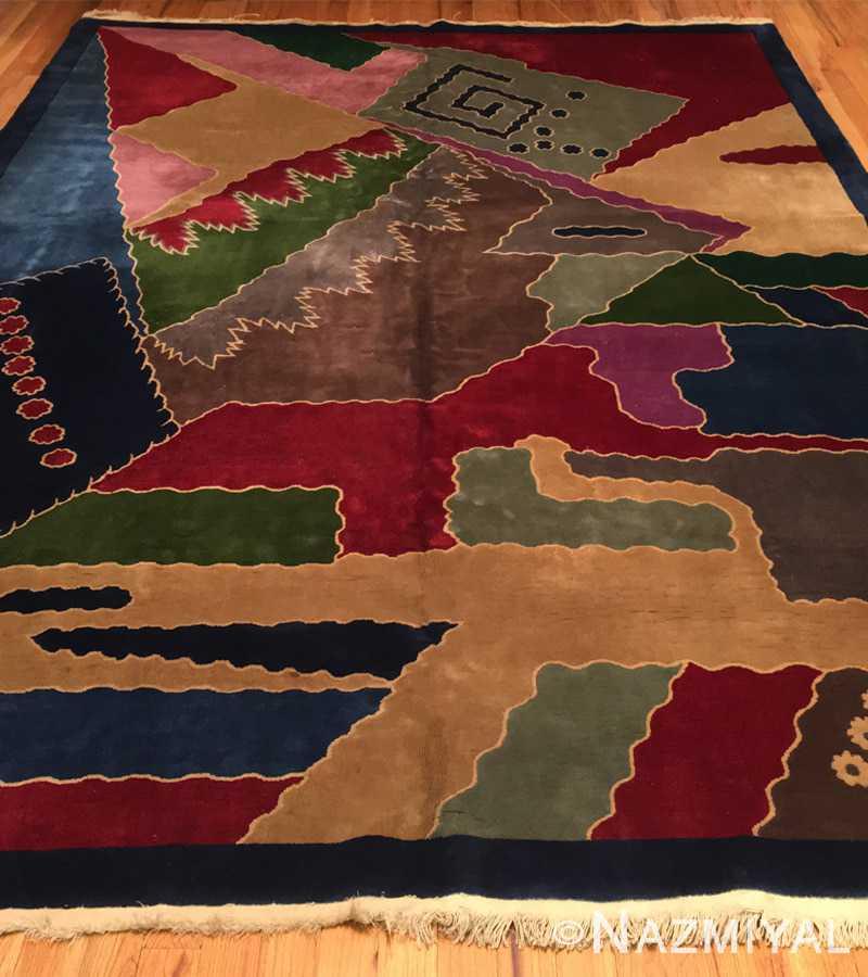 Detail 10 - Vintage Chinese Deco Carpet 46981