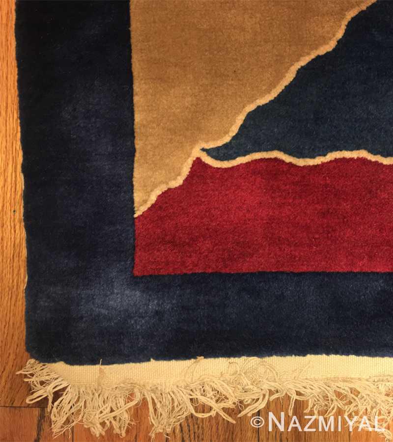 Detail 6 - Vintage Chinese Deco Carpet 46981