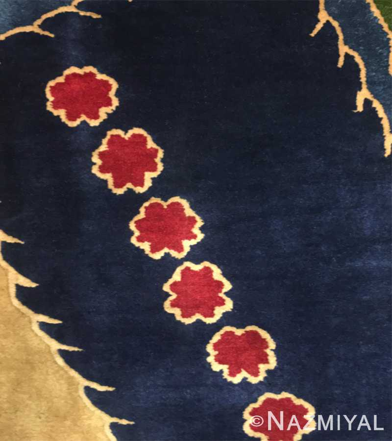 Detail 7 - Vintage Chinese Deco Carpet 46981