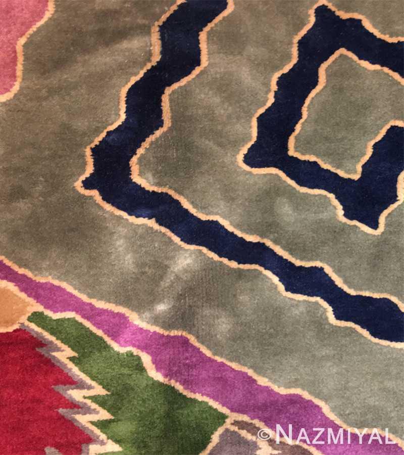 Detail 8 - Vintage Chinese Deco Carpet 46981