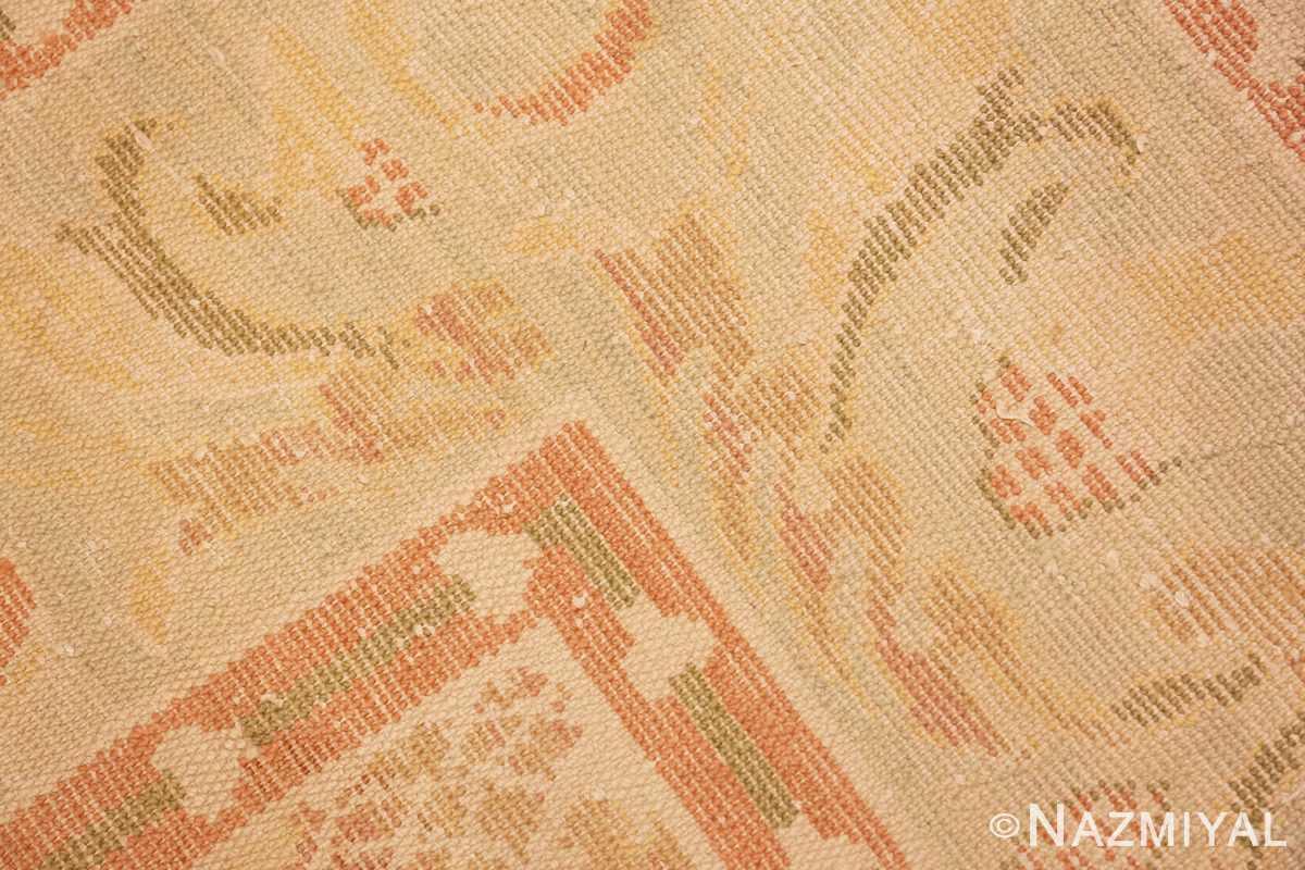 Weave detail Vintage Spanish rug 46975 by Nazmiyal