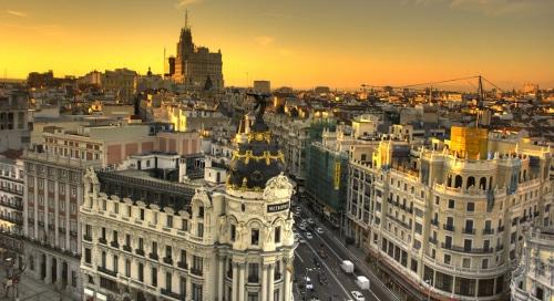 Madrid Spain Antique Rugs