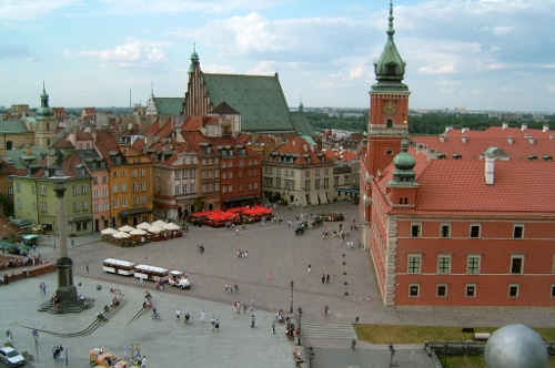 Warsaw Poland Antique Rugs