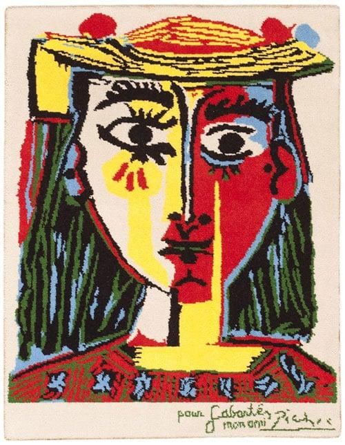Picasso Rugs at Nazmiyal