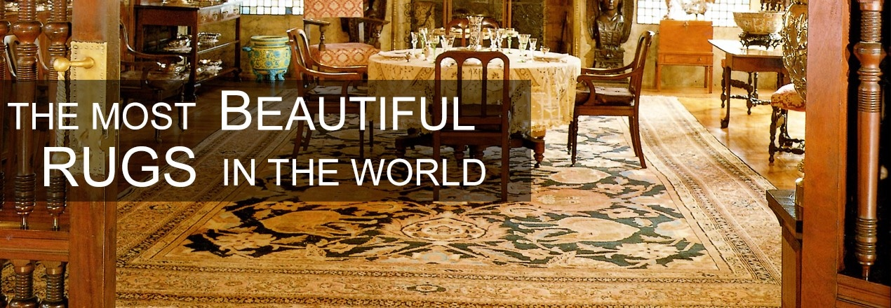 The most beautiful antique rugs (image source: Thomas Jane)