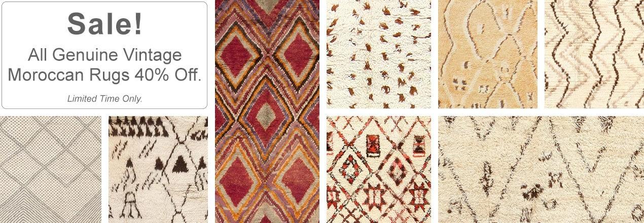 Moroccan Rug Sale | Nazmiyal