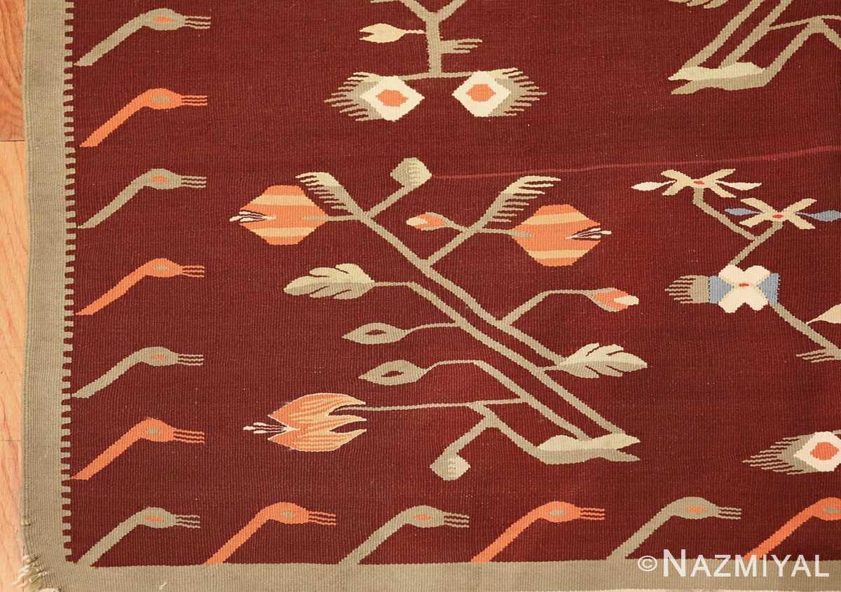 antique bessarabian kilim 47037 corner Nazmiyal