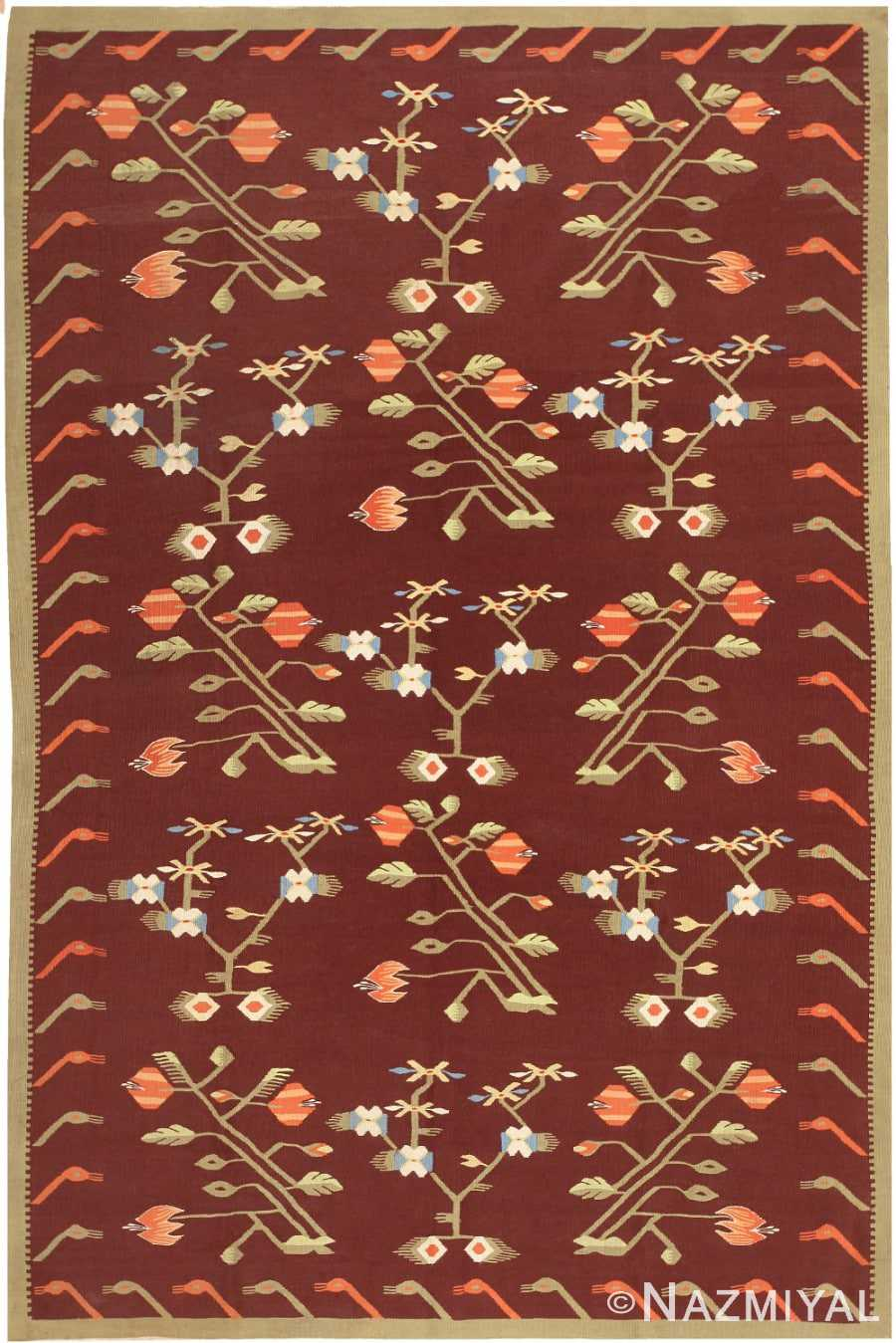 Antique Bessarabian Kilim 47037 Nazmiyal