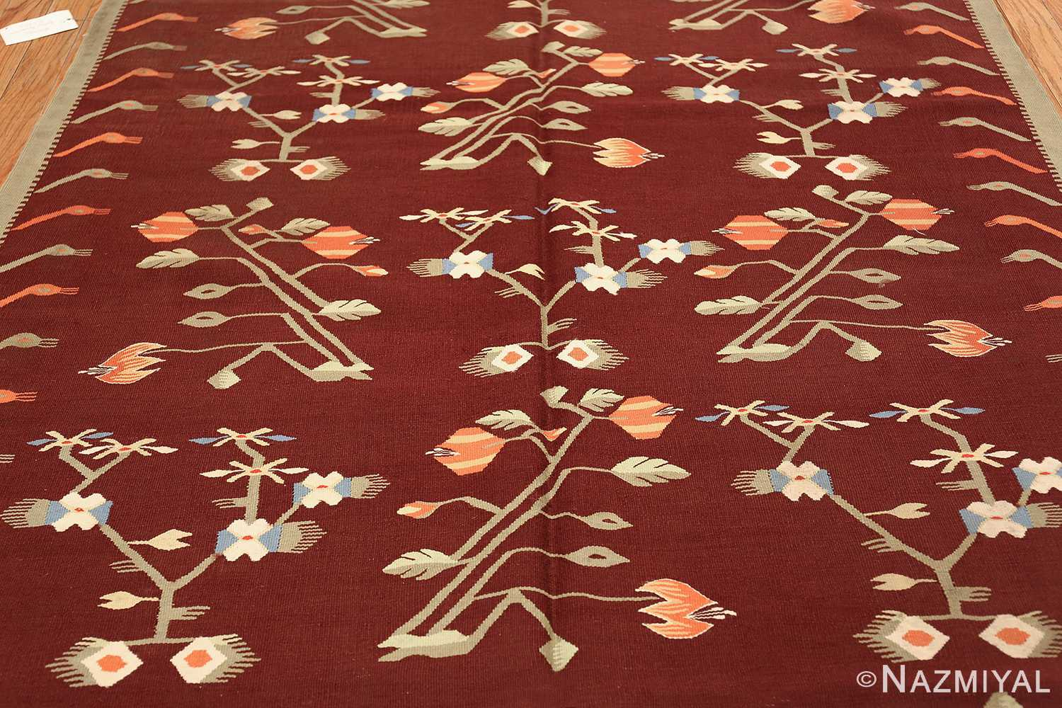 antique bessarabian kilim 47037 field Nazmiyal