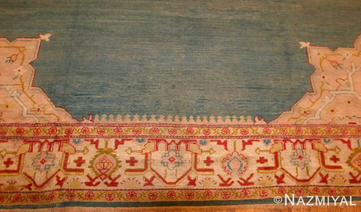 antique turkish oushak rug 47046 border Nazmiyal