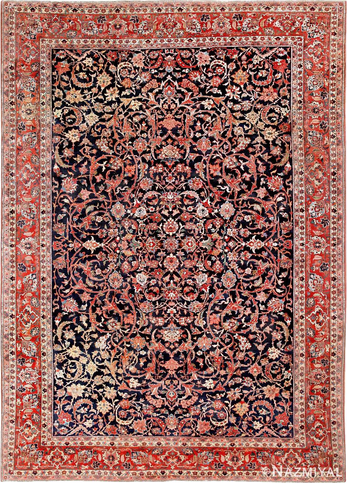 Bidjar Persian Rug 46734 Nazmiyal