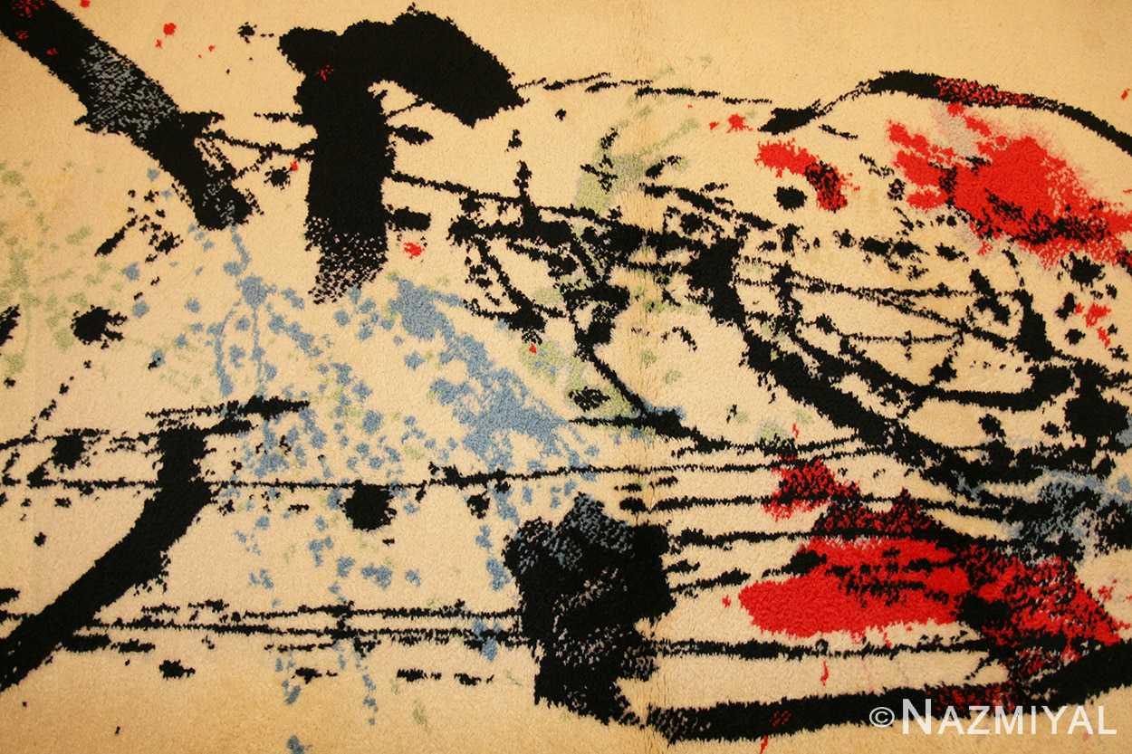 vintage scandinavian deco rug by Ege 47036 field Nazmiyal