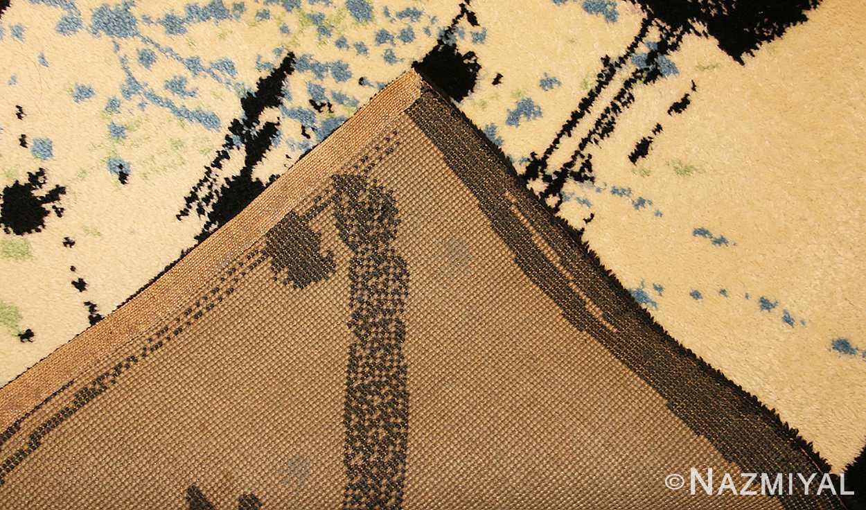 vintage scandinavian deco rug by Ege 47036 weave Nazmiyal