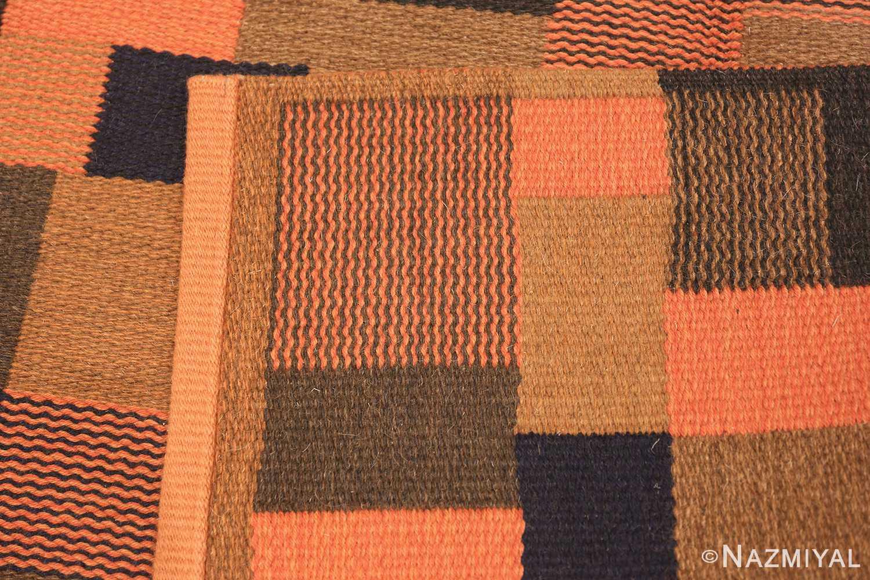 Vintage Scandinavian Rug by Ingrid Dessau 47031 Knots Woven Nazmiyal