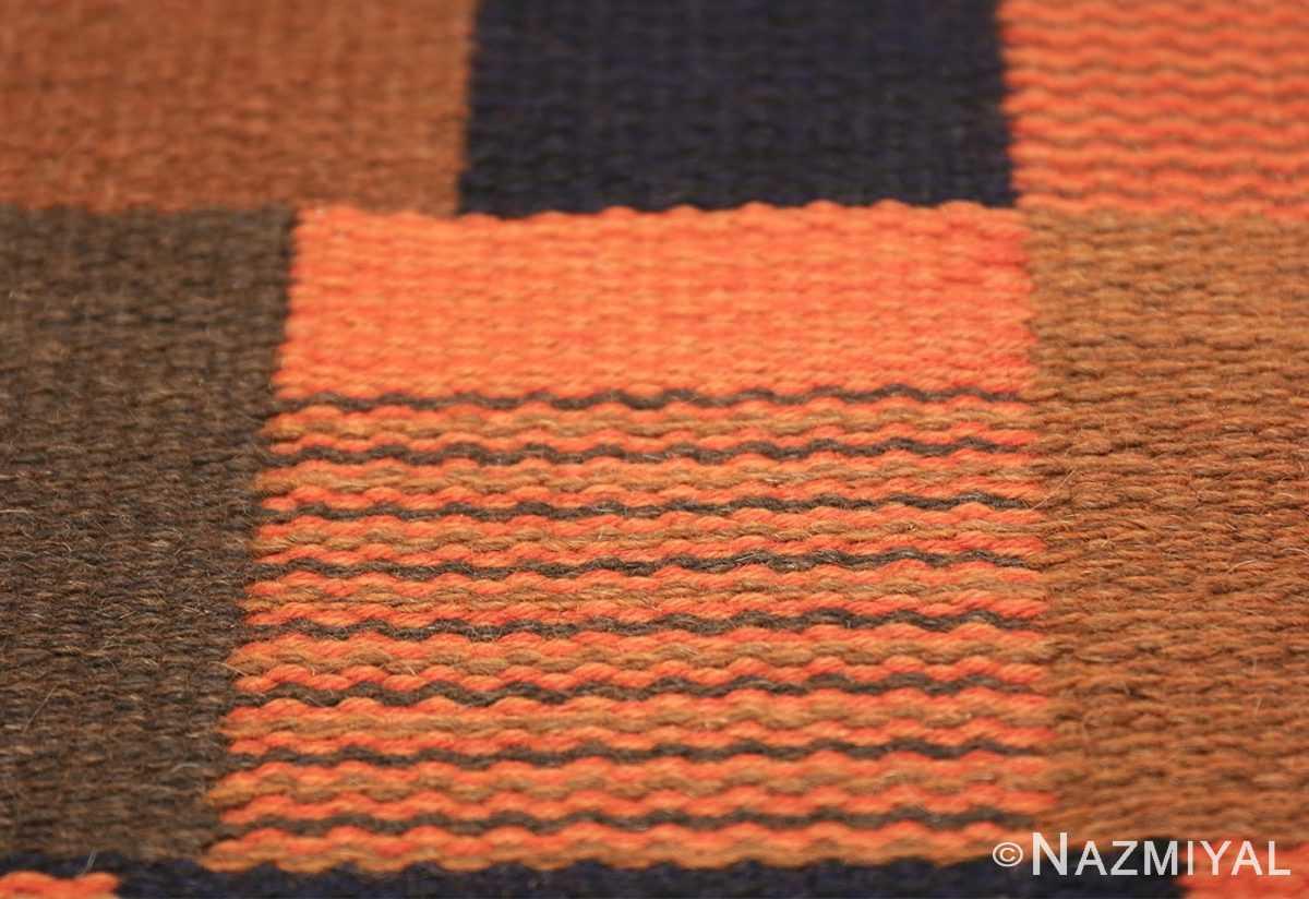 Vintage Scandinavian Rug by Ingrid Dessau 47031 Lines Texture Nazmiyal