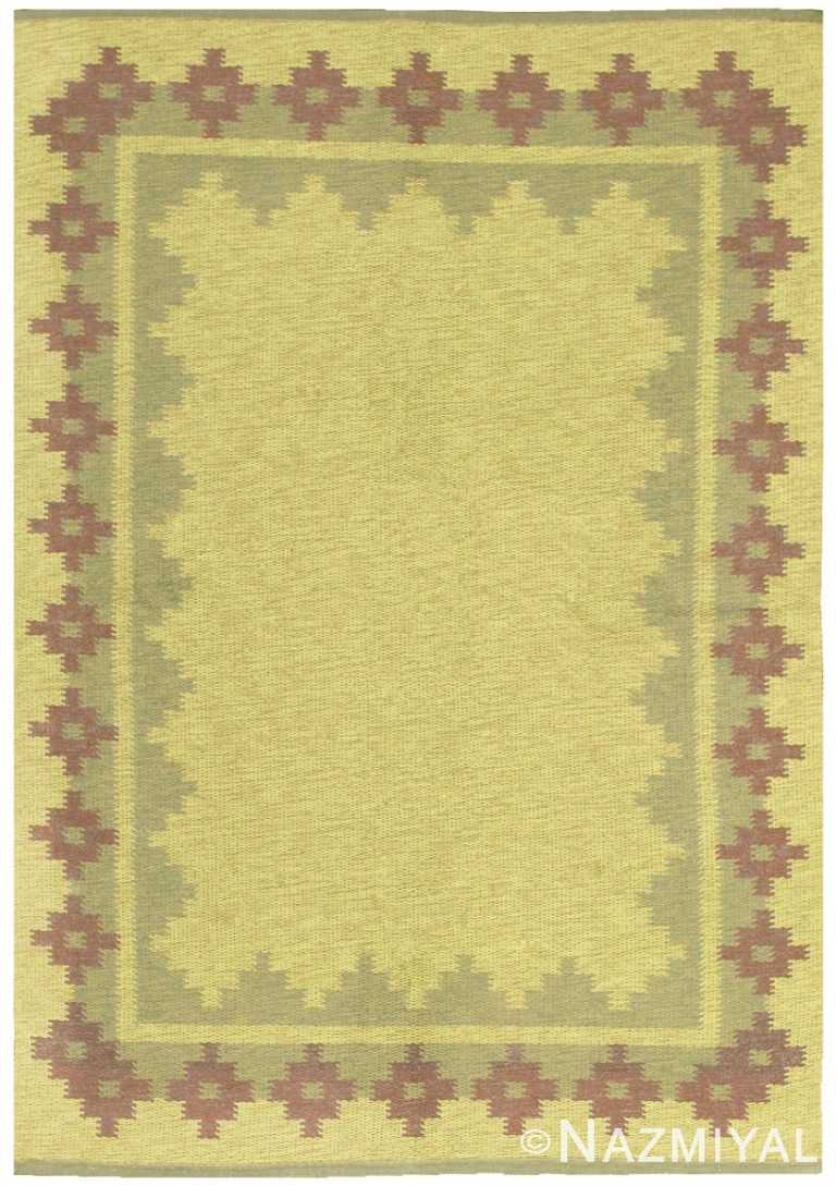 Vintage Scandinavian Swedish Rug 47005 Nazmiyal Rugs