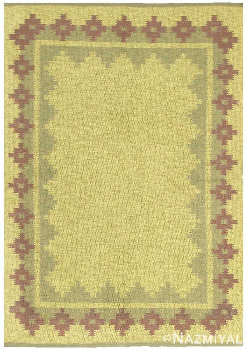 Vintage Scandinavian Swedish Rug 47005 Large Image