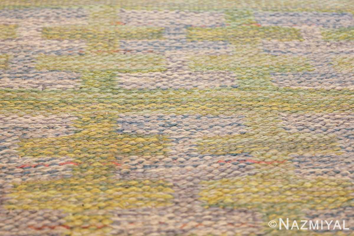 vintage scandinavian swedish rug 47006 texture Nazmiyal