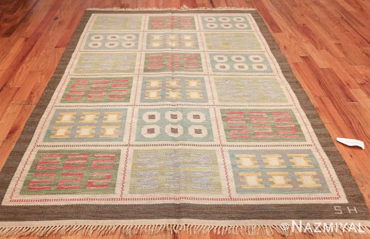 vintage scandinavian swedish rug 47006 whole Nazmiyal