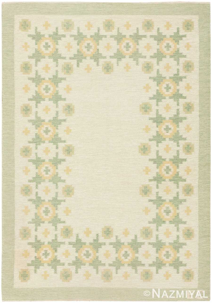 Vintage Scandinavian Swedish Rug 47011 Nazmiyal
