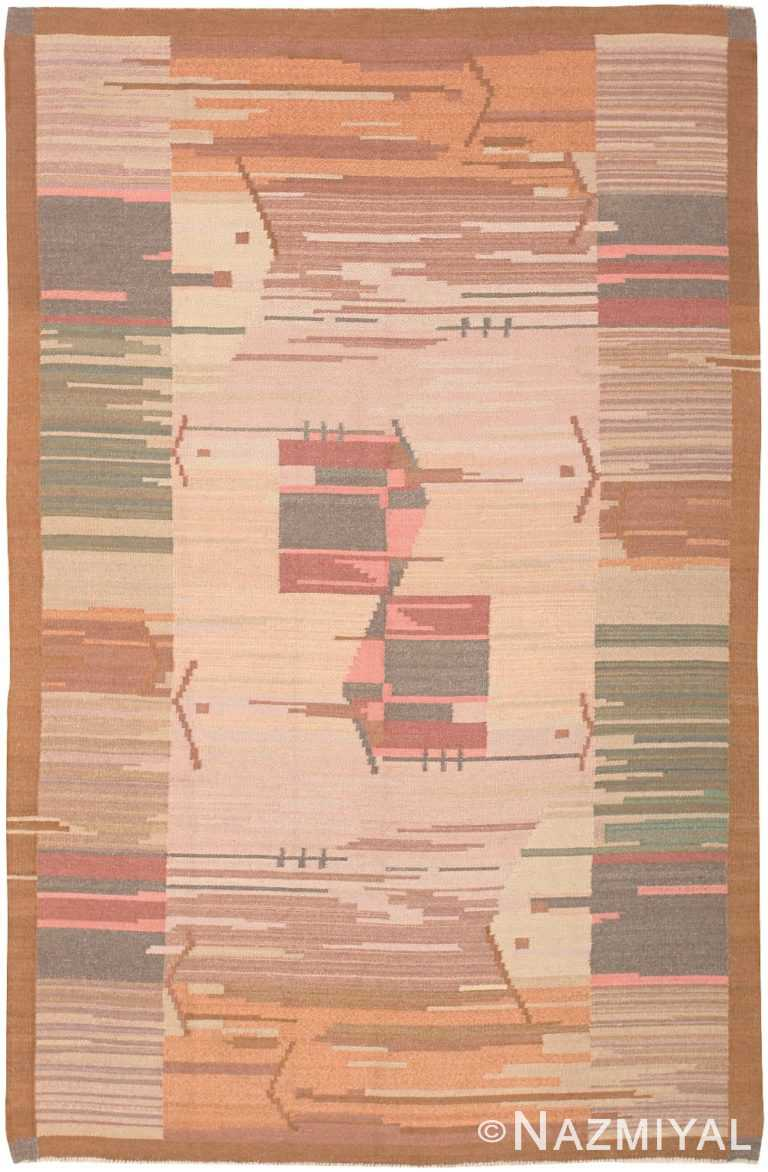Vintage Scandinavian Swedish Rug 47029 Nazmiyal