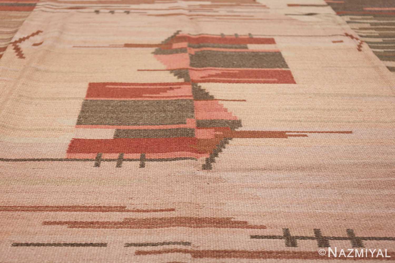 vintage swedish rug 47029 houses Nazmiyal