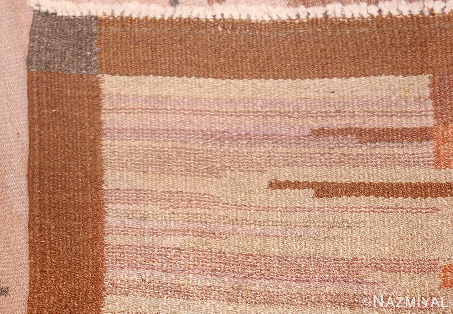 vintage swedish rug 47029 knots Nazmiyal