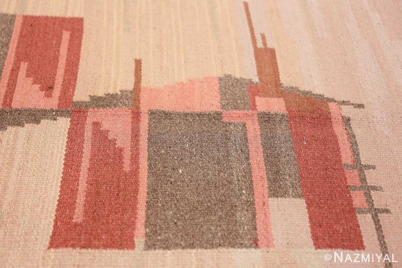 vintage swedish rug 47029 texture Nazmiyal