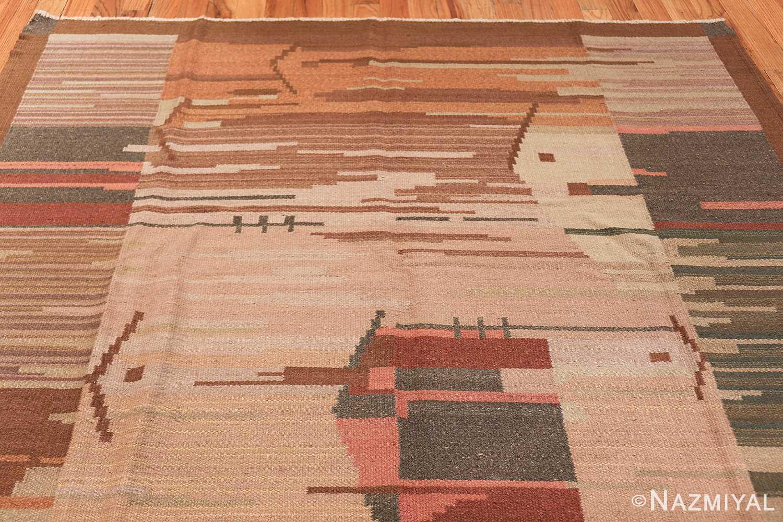 vintage swedish rug 47029 top Nazmiyal