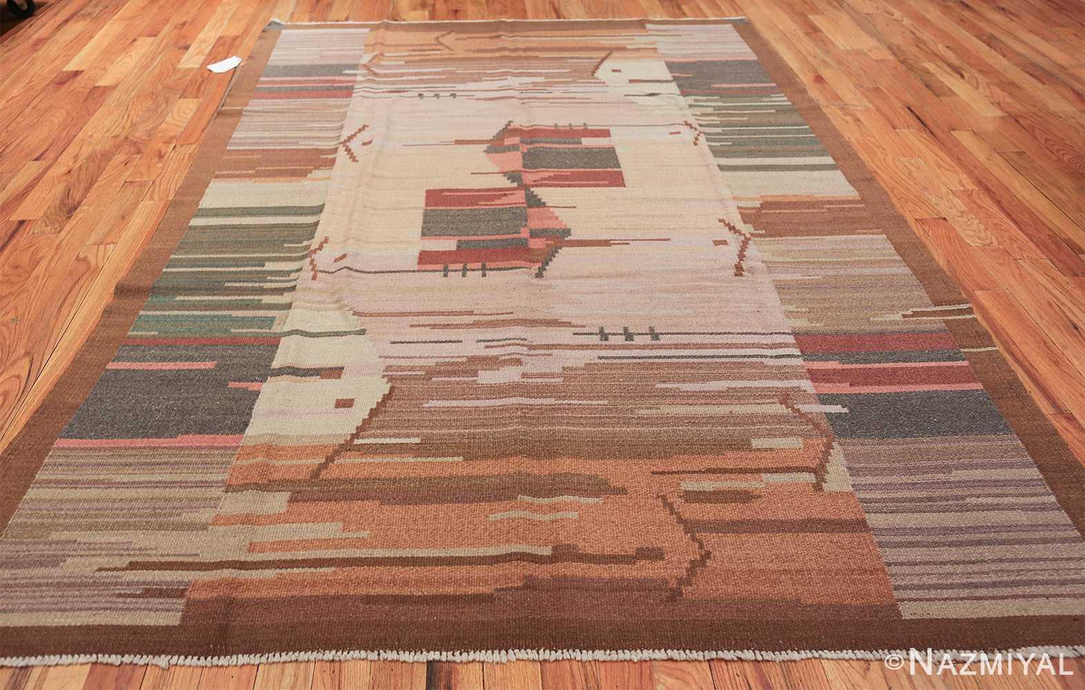 vintage swedish rug 47029 whole Nazmiyal
